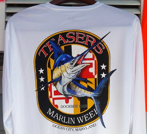 Sunset Grille Ocean City White Marlin Apparel